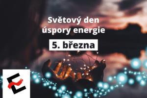 Úspory energie jsou alfou a omegou naší každodenní práce
