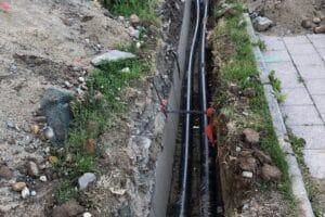 Oprava rozvodů teplé vody při zdroji K3 Anglická, Šumperk